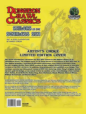 Dungeon Crawl Classics 67: Sailors on the Starless Sea (T.O.S.) -  Goodman Games