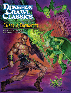 The Emerald Enchanter 69 Dungeon Crawl Classics -  Goodman games