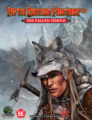 Fifth Edition Fantasy 9: The Fallen Temple (T.O.S.) -  Goodman Games