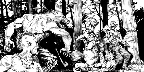 the lay of the werewolf Major characters: bisclavaret: a knight/ werewolf who was married and who bit his wife and was given back the name of a knight the wife: she re-married the knight after she found out her.