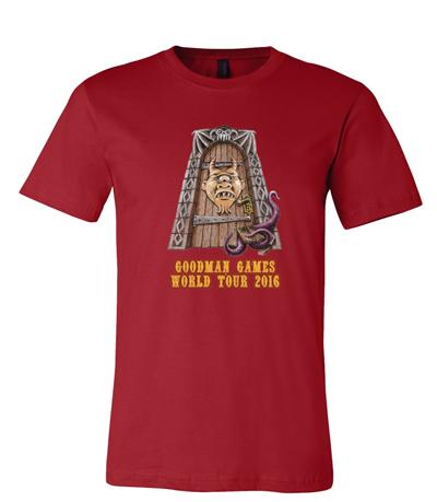 World Tour shirt